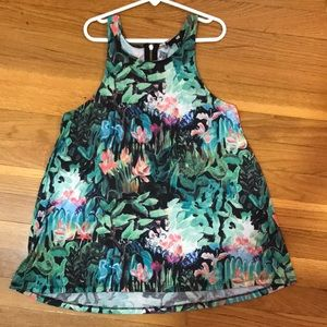 H&M forest tank top.